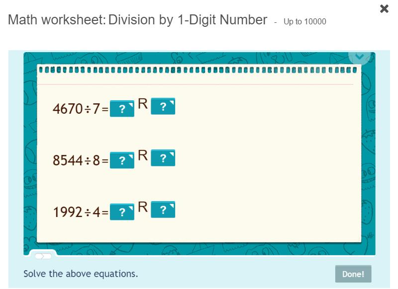 Teaching Division Worksheets – desiaustralia.co